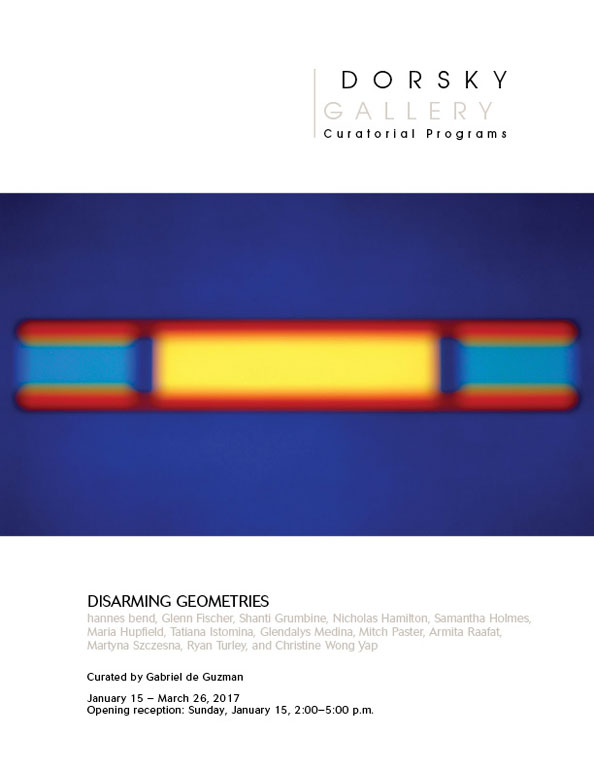 Disarming Geometries Cover
